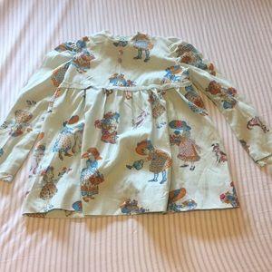 Vintage children's dress, hand made.